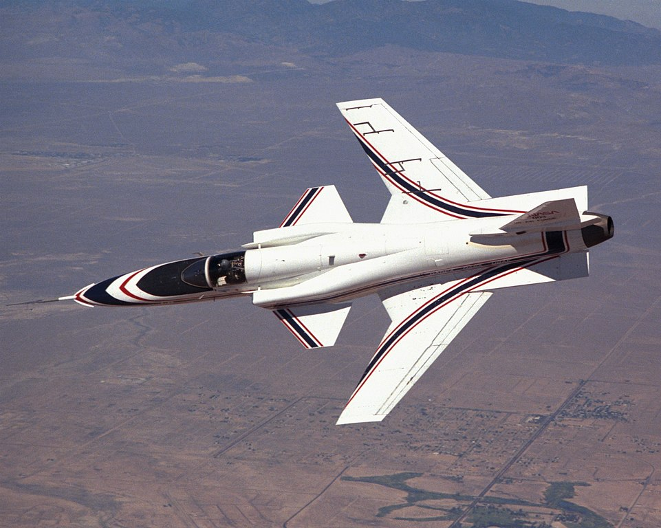 X-29 - forward swept