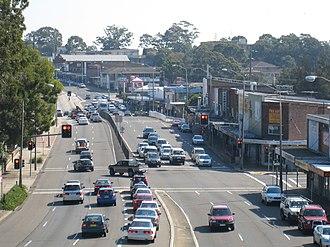 Yagoona, New South Wales - Hume Highway, Yagoona