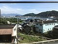 Yamagawa Bay from train on south side of Yamakawa Station 3.jpg
