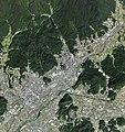 Yamaguchi city center area Aerial photograph.2009.jpg