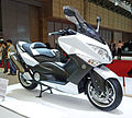 Yamaha TMAX 10th Anniversary WHITEMAX at the TMS 2009-2.JPG
