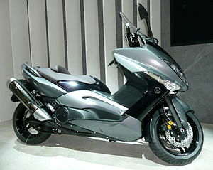 Toulouse and Montauban shootings - The type of scooter used in the shootings, a Yamaha TMAX.