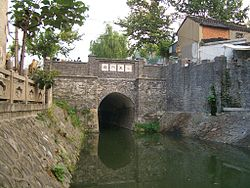 The Xiaoqinhuaihe Canal in downtown Yangzhou