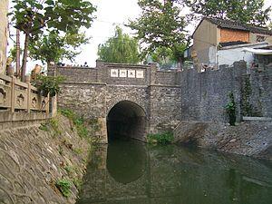 Guangling District - The Xiaoqinhuaihe Canal in downtown Yangzhou
