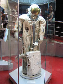 Russian space suit