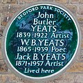 Yeats lived here 3 Blenheim Road London W4.JPG