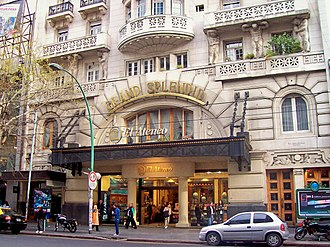 El Ateneo Grand Splendid - Exterior of the store