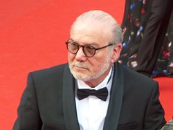 Yoram Globus at Cannes film festival 2014.jpg