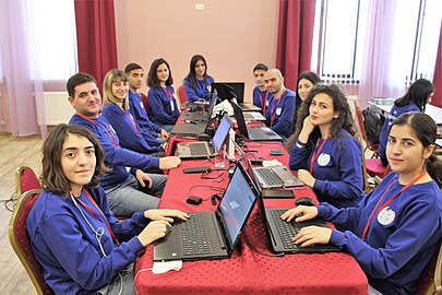 Youth Winter WikiCamp 2019, Tsaghkadzor, Wikimedia Armenia 02.jpg