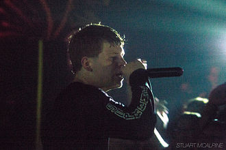 Yung Lean - Yung Lean on the Black Marble Tour in Palisades in Brooklyn (July 2014)