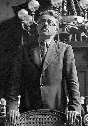 Yves Bouthillier - Bouthillier in Pétain Trial in 1945