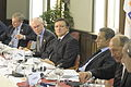 Yves Leterme, Herman Van Rompuy, José Manuel Durão Barroso and Nicolas Sarkozy at the European People's Party Summit - 20100915.jpg