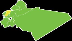 Battle of Zabadani (2015) - Image: Zabadani District
