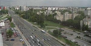Milan Bandić - Image: Zagrebacka Avenija, Zagreb