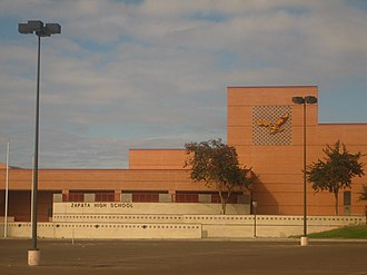 Zapata, Texas - Image: Zapata High School, Zapata, TX IMG 2032
