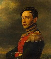 Portrait of Pyotr F. Zheltukhin (1777-1829) (replica of the 1823 portrait)