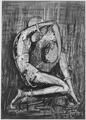 """Crouched Figure"", 1960 - NARA - 558964.tif"