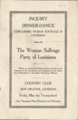 """Inquiry Dinner-Dance...The Woman Suffrage Party of Louisiana, May 23, 1919.png"