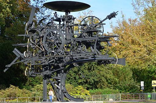 'Heureka' von Jean Tinguely am Zürichhorn 2012-10-05 16-43-06