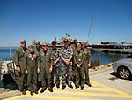 'War Eagles' team up with Australian armed forces for bilateral training 120311-N-RE636-027.jpg