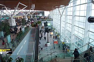 Indira Gandhi International Airport - Interior of the Domestic Terminal
