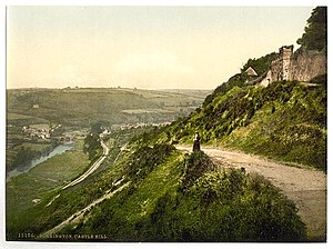 "Great Torrington - ""Castle Hill, Torrington, England"", ca. 1890 - 1900."
