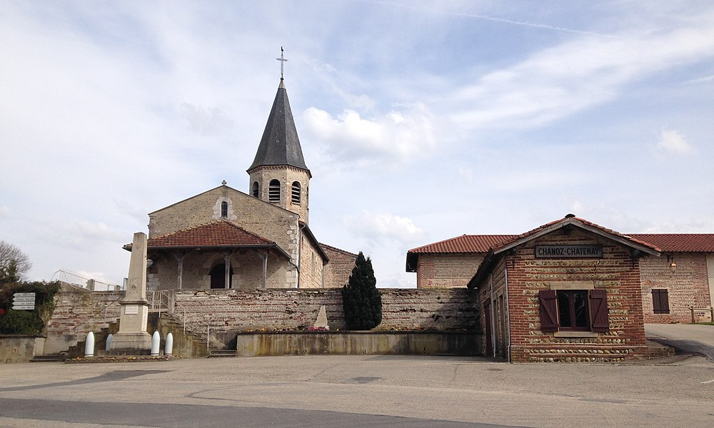 Église de Chanoz-Chatenay