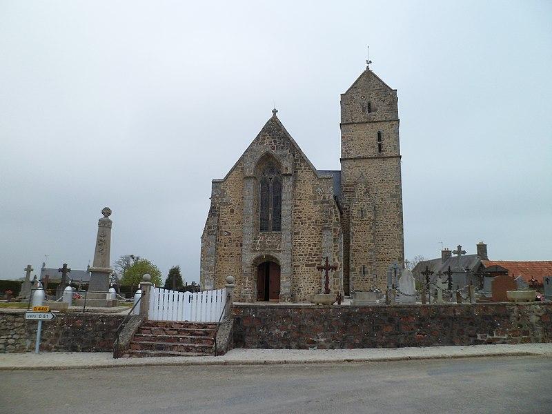 église Saint-Martin de fr:Montaigu-les-Bois