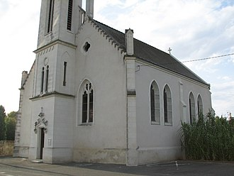 Berthenay - The church in Berthenay