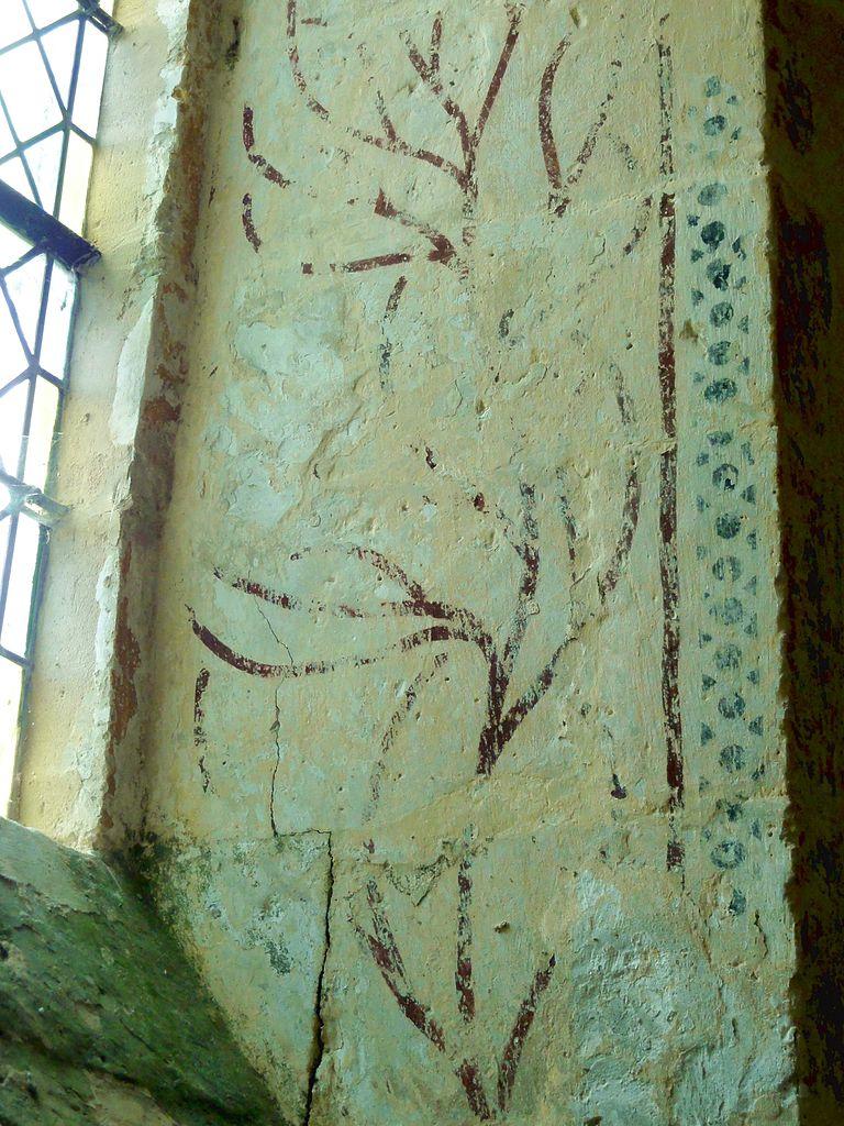 Fichier m ville 60 glise saint l ger base du clocher for Differents types de peinture murale