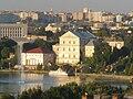Вигляд ставу, замку і центру міста Тернополя з мікрорайону «Дружба».jpg