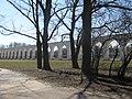 Вид на арку Ярославово дворища ранней весной.jpg