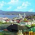 Вид на г. Златоуст. Осень 1909 года.Фотограф-Прокудин-Горский. - panoramio.jpg