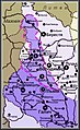 Володіння Юрія Львовича у межах держави князя Лева на кінець XIII ст.jpg