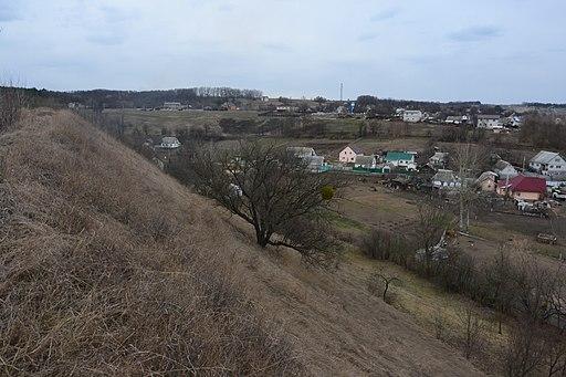 Давньоруське городище в с.Старі Безрадичі (Обухівський район), вал дитинця 3