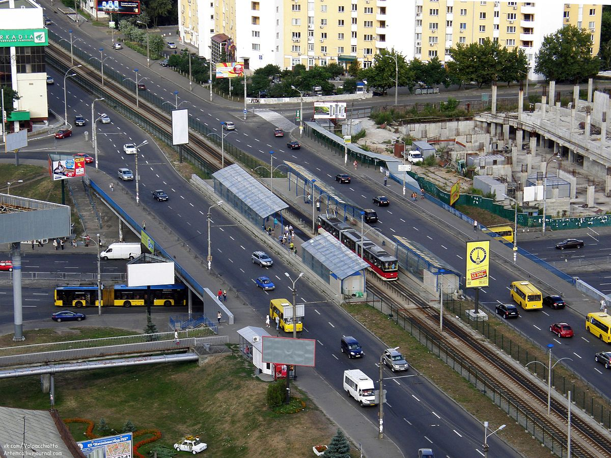 На части улицы Борщаговской в Киеве на полгода ограничили движение транспорта, - КГГА - Цензор.НЕТ 1983
