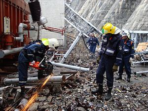 аварийно-спасательные работы в очагах поражения
