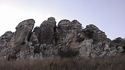 Lysogorka, Cretaceous Rocks, Kuybyshevsky District