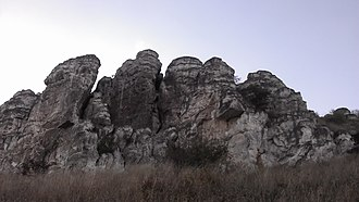 Kuybyshevsky District, Rostov Oblast - Lysogorka, Cretaceous Rocks, Kuybyshevsky District
