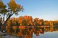 Озеро Вербне, осінь, захід сонця 01.jpg