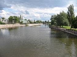 Inhul River in Kirovohrad