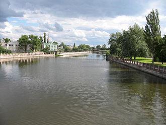 Kropyvnytskyi - Inhul River in Kropyvnytskyi