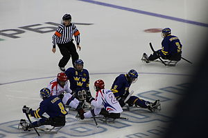 Sweden at the 2014 Winter Paralympics - Sweden vs South Korea