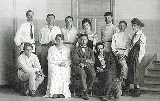 UNOVIS - UNOVIS in Vitebsk, June 1922