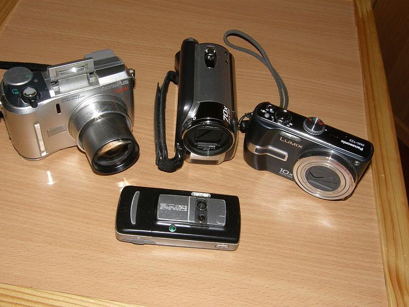 urządzenia do robienia zdjęć