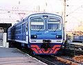 Электропоезд ЭД9М-0090 в Волгограде.jpg