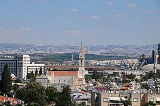 Ramla City in Israel