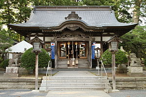 Shichinohe, Aomori - Shichinohe Shrine