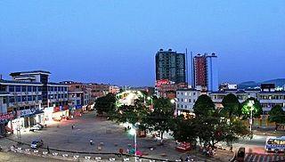 Dongmen, Fusui County Town in Guangxi, Peoples Republic of China