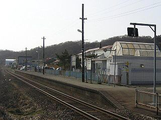 Hidaka-horobetsu Station Railway station in Urakawa, Hokkaido, Japan